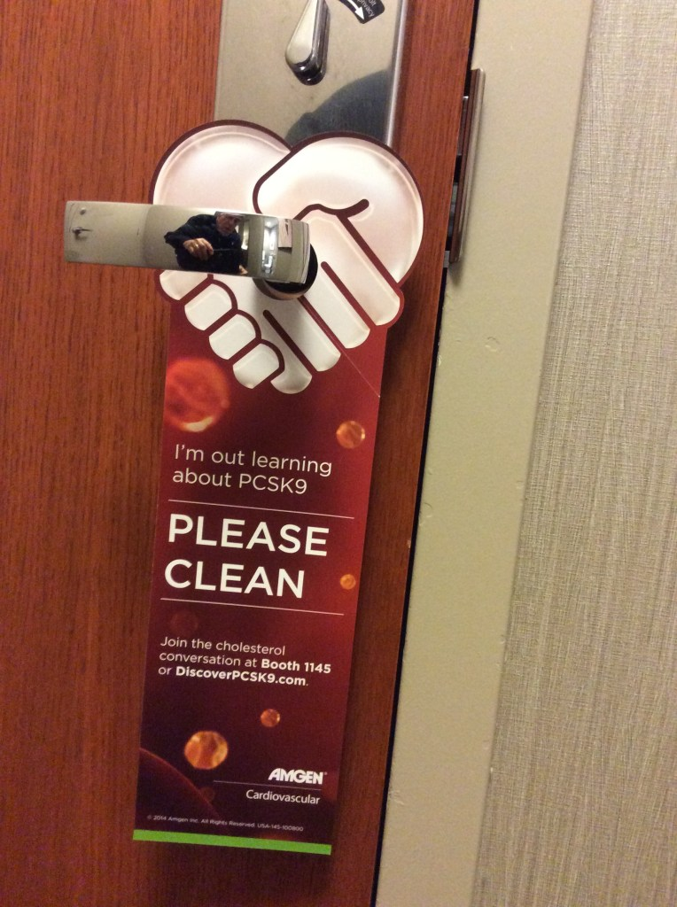 Amgen Door Hanger