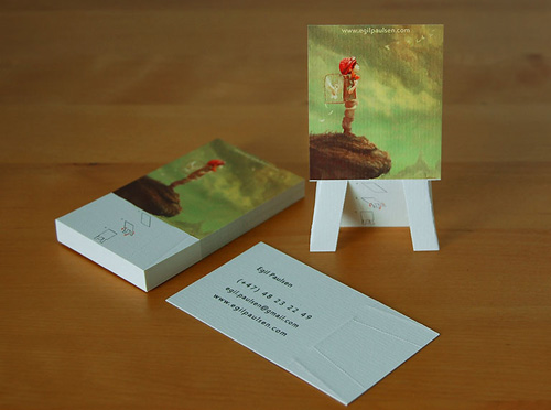 10 Creative Business Card Ideas for Fine Artists Fidelis Art Prints