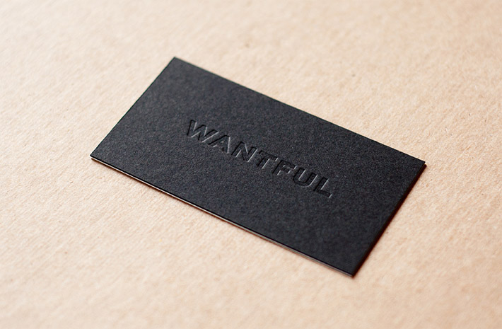 cool-letterpress-business-card-wantfuljpg (710×465) TypeSet - letterpress business card
