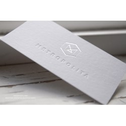 Small Crop Of Business Card Paper