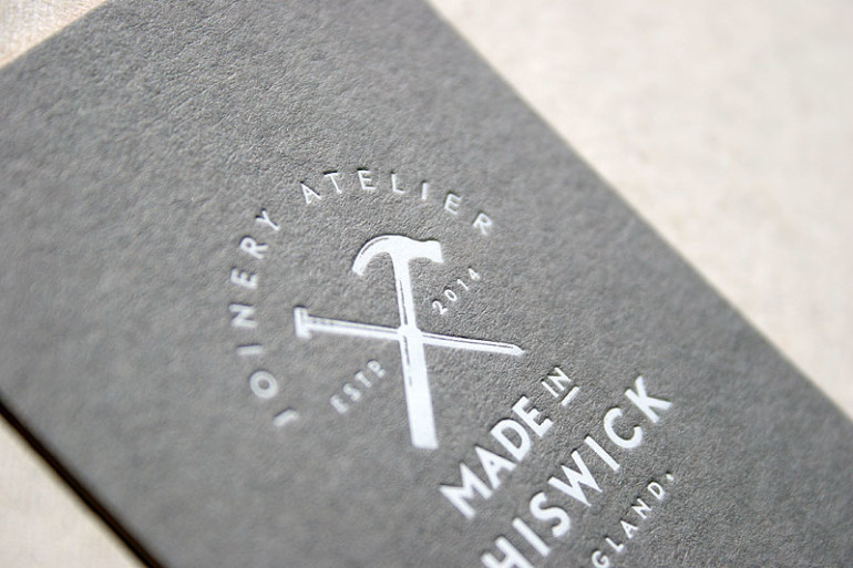 Custom Letterpress Business Cards \u2013 Made in Chiswick CardRabbit