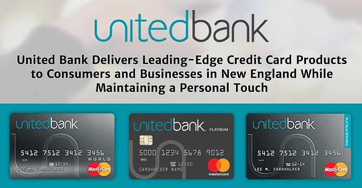 United Credit Card Customer Service United Bank Delivers Leading Edge Credit Card Products To