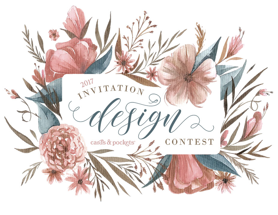 Wedding Invitation Designs 2017 Contest Gallery