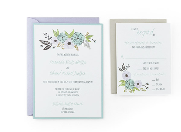 Cards and Pockets - Free Wedding Invitation Templates - wedding template