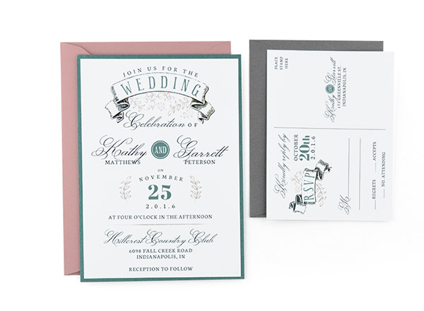 Banner Free Wedding Invitation Template