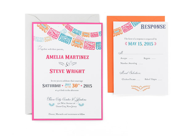 Cards and Pockets - Free Wedding Invitation Templates - invitations templates