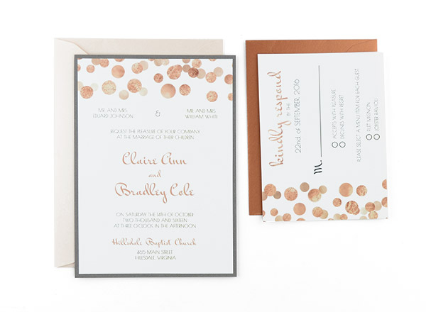 Cards and Pockets - Free Wedding Invitation Templates - Free Invitation Templates