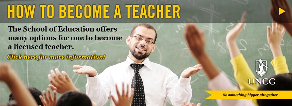 Why You Become A Teacher Essay