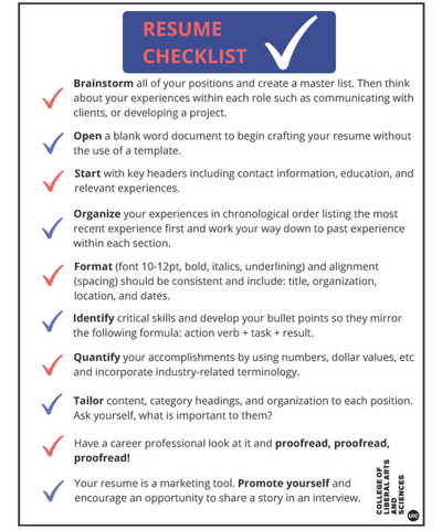 Resume, Cover Letter, and Interview Preparation Career Development