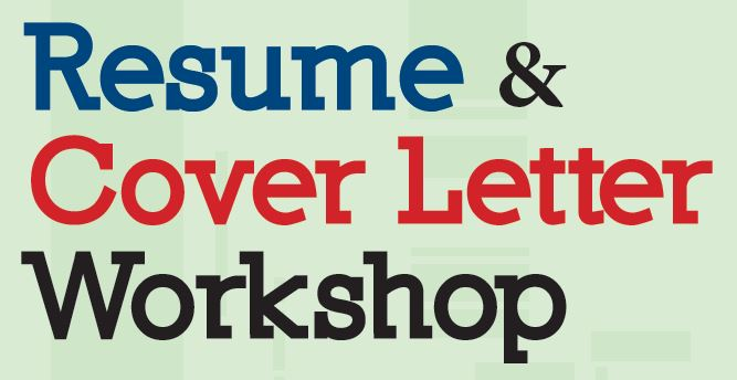 Resume and Cover Letter Workshop Career  Life Planning Center