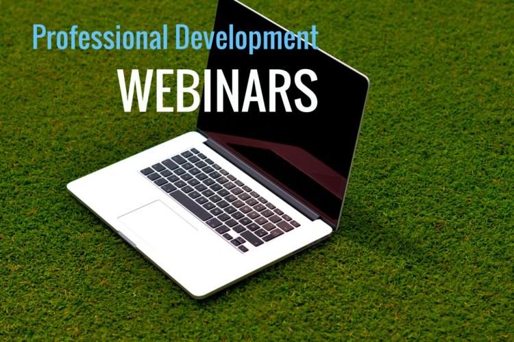 Featured Resource: Professional Development Webinars