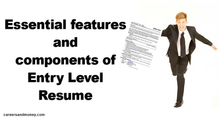 Essential features and components of Entry Level Resume