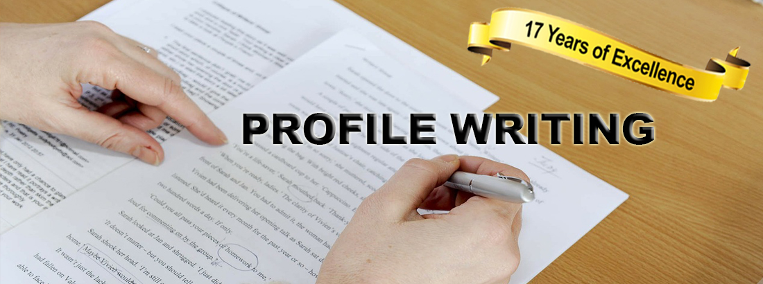 Profile Writing - careersandmoney
