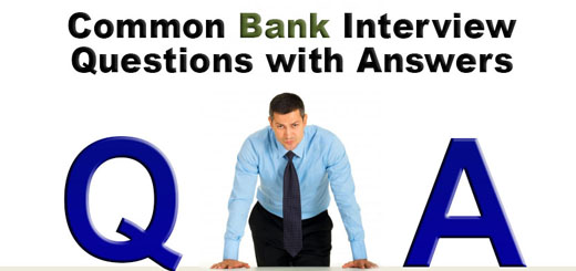 Common Bank Interview Questions with Answers - careersandmoney