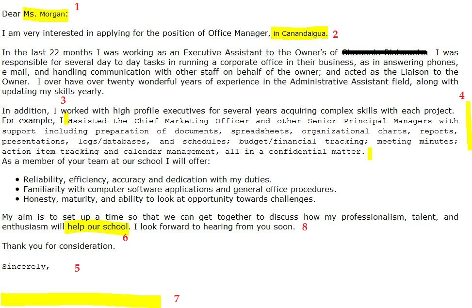 Common Mistakes On Manager Cover Letter  ResumeTemplate