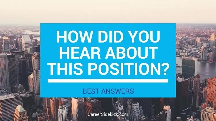 How To Answer \ - best interview answers