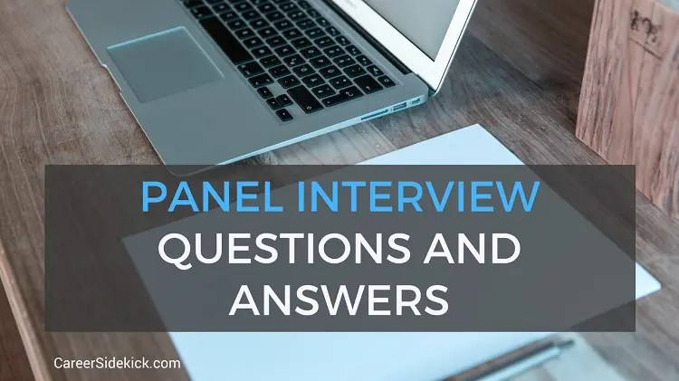 Common Panel Interview Questions and Answers \u2022 Career Sidekick