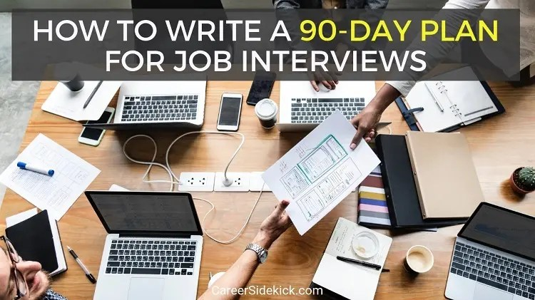 Free Proven 30-60-90 Day Plan Template for Job Interviews \u2022 Career