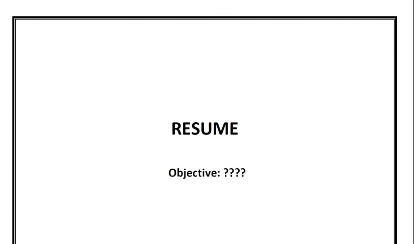 You Need Focus So Your Resume Will Have Focus \u2013 Career Tipster - career focus for resume