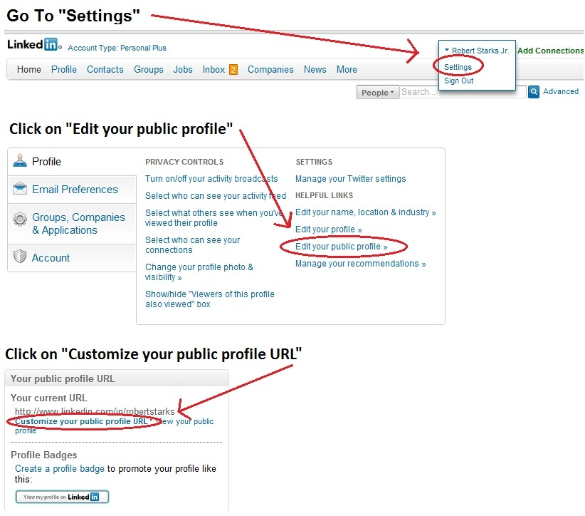 HOW TO Create a Vanity URL for your LinkedIn Profile \u2013 Career - tattoo artist resume