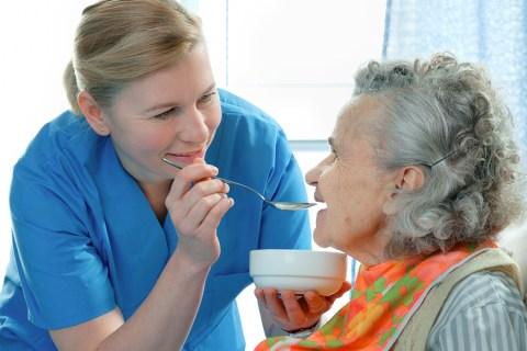 late stage puree food1 480x320 A Person Centered Approach to Dementia Care