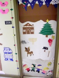 Winter Door Decorations - Carey Crafts