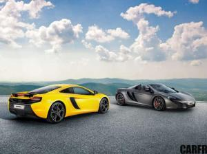The McLaren 625C Coupe and Spider