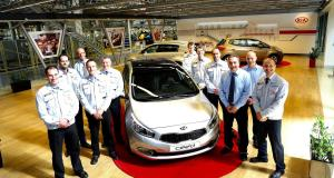 Kia Cee'd Production Hits Seven Figures