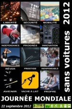 Journée mondiale sans voitures 2012