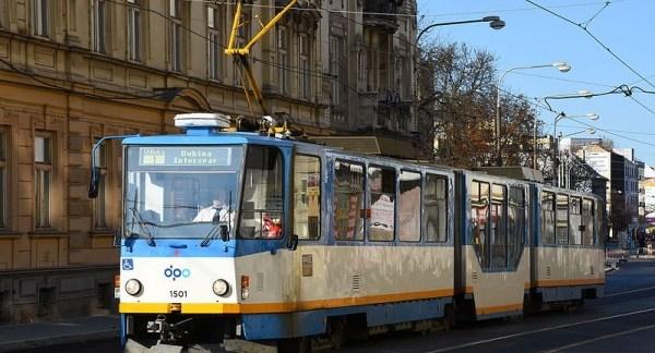 Ostrava-tramway