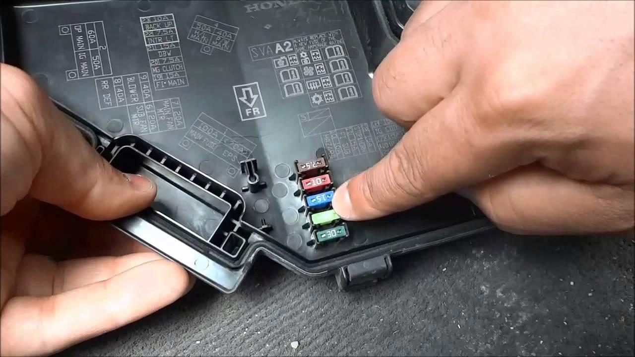 bad electrical fuse box