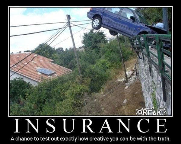 Funny Insurance Claims Stories And Real Accident Photos Insurance Car Humor