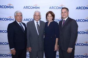Rafael Genao, Santiago Reynoso, Magdalena Jáquez y Gerson Corona.
