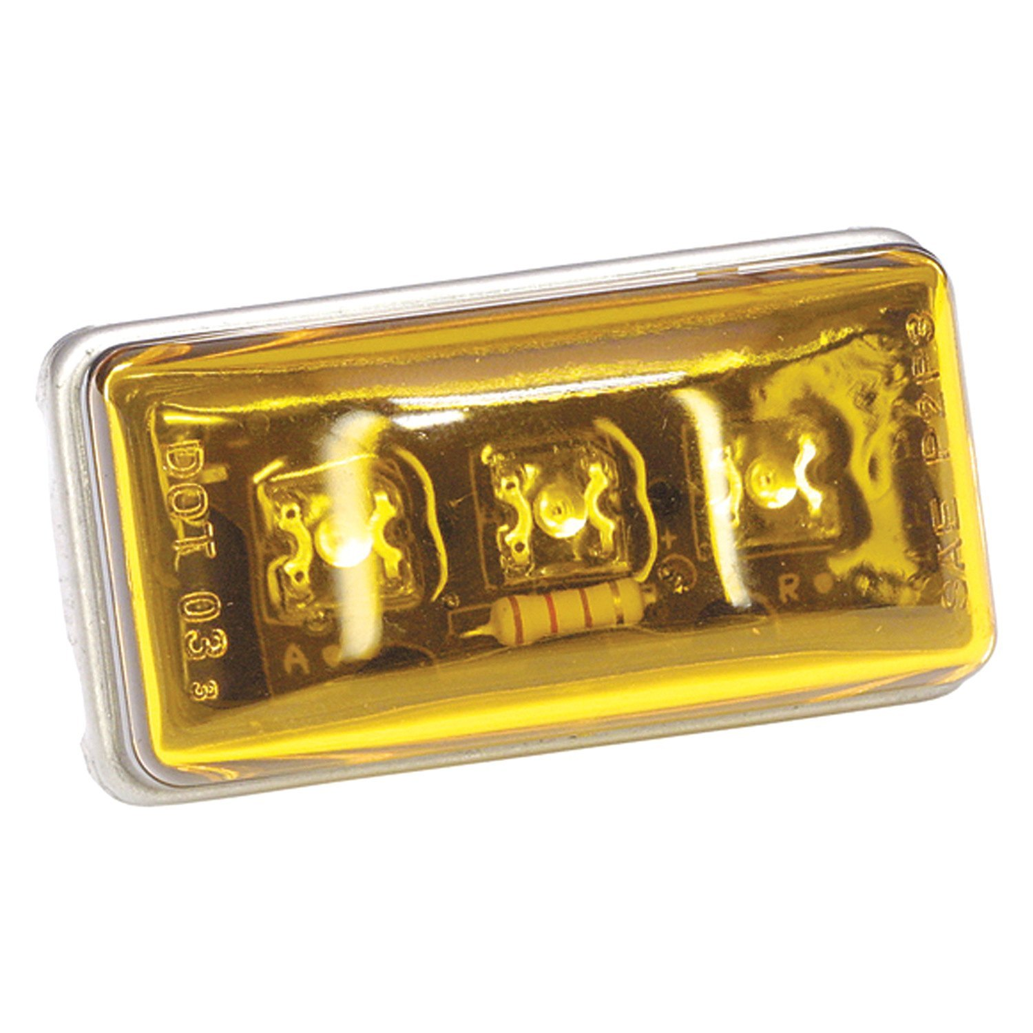 Amber Led Wesbar 401565 99 Series Amber Led Clearance Light Module