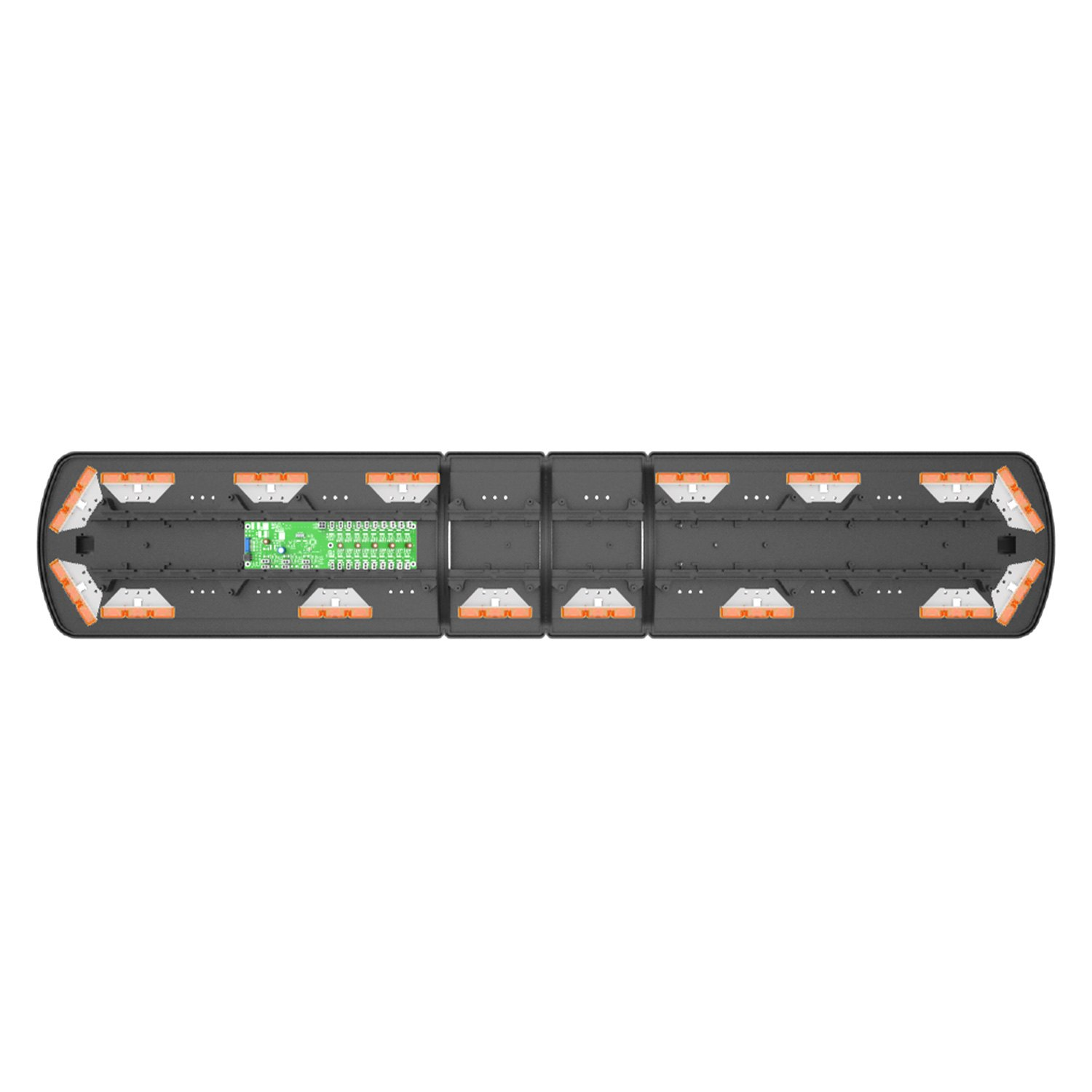 Amber Led Ecco Vantage 12 Series Amber Led Emergency Light Bar