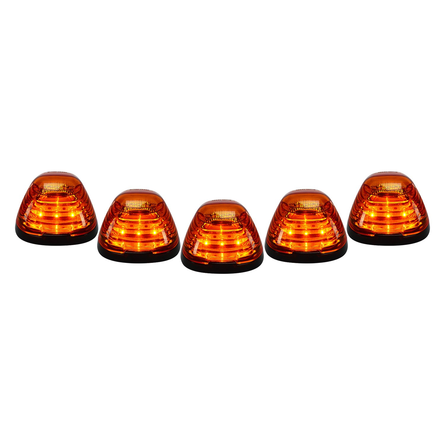 Amber Led Recon 264143am Black Amber Led Cab Roof Lights