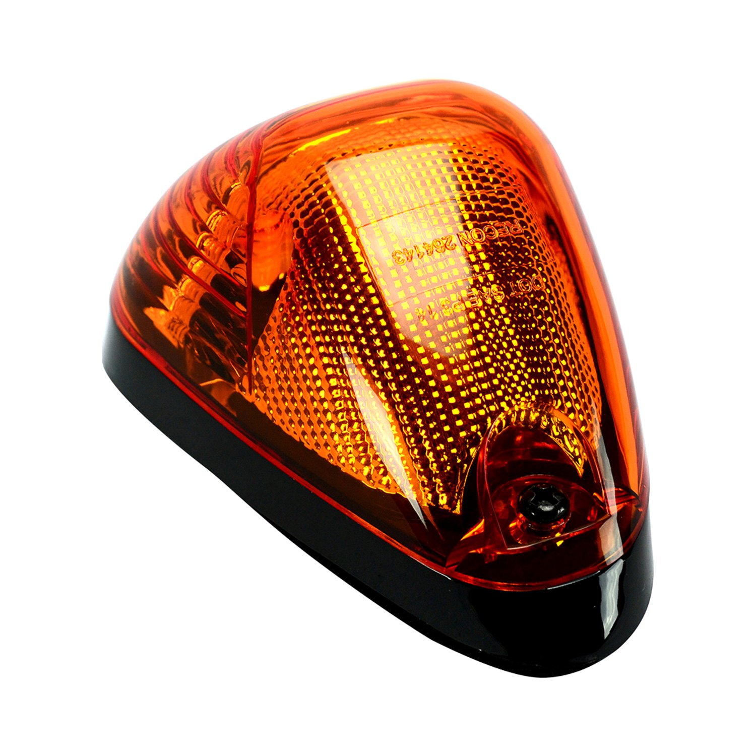 Amber Led Recon 264143amx Black Amber Led Cab Roof Light