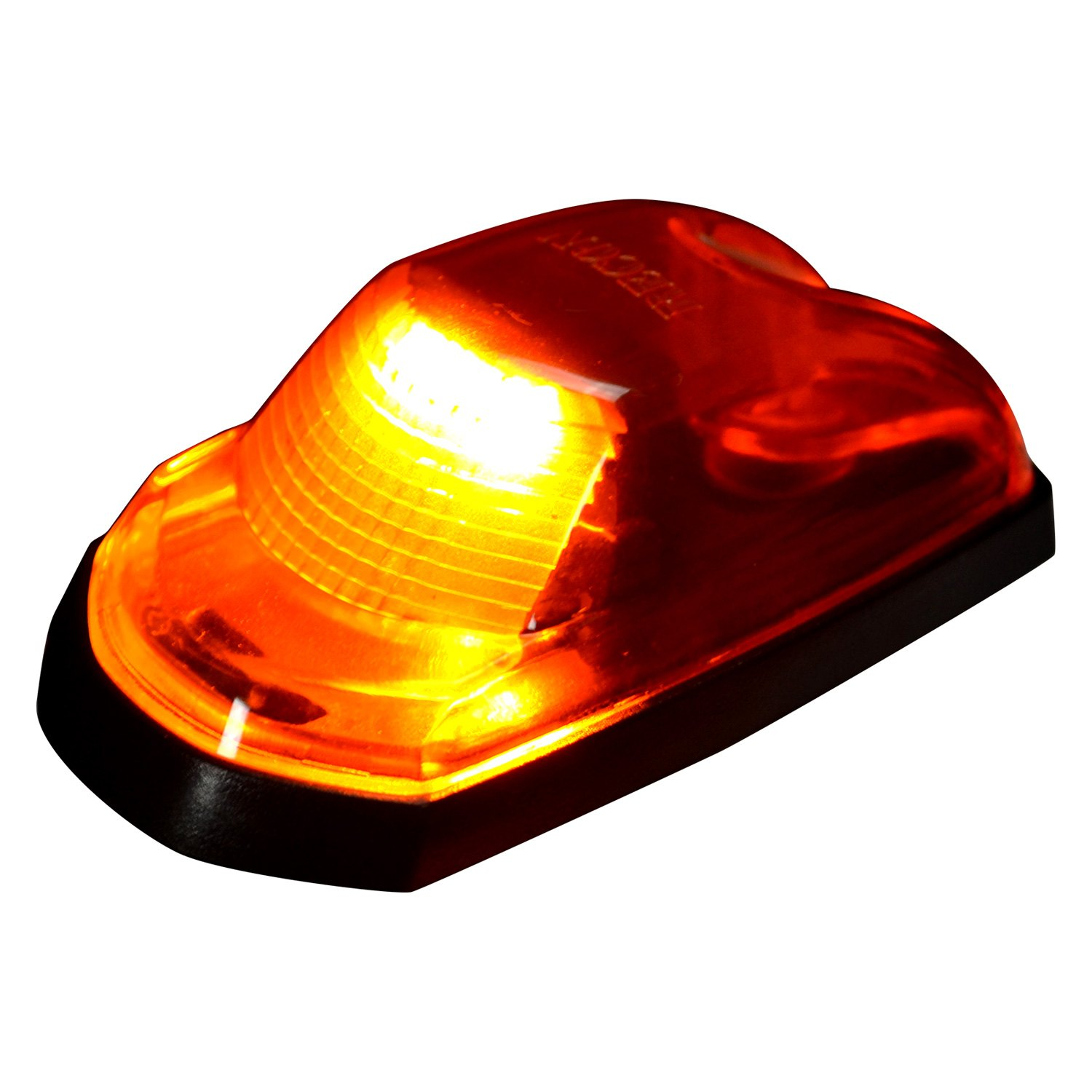 Amber Led Recon 264343am Black Amber Led Cab Roof Lights
