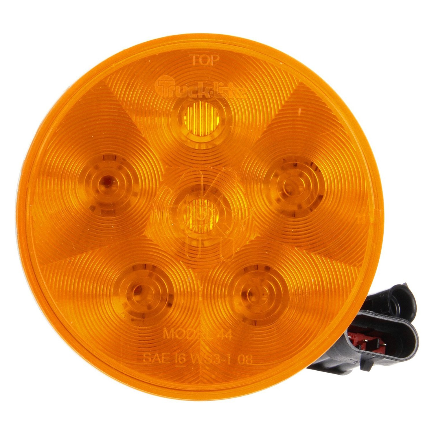 Yellow Led Lights Truck Lite Super 44 Led Warning Light