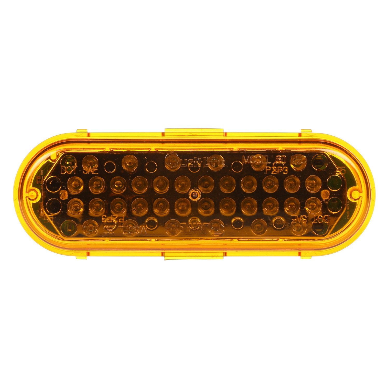 Yellow Led Lights Truck Lite 60362y Super 60 Grommet Mount Yellow Led