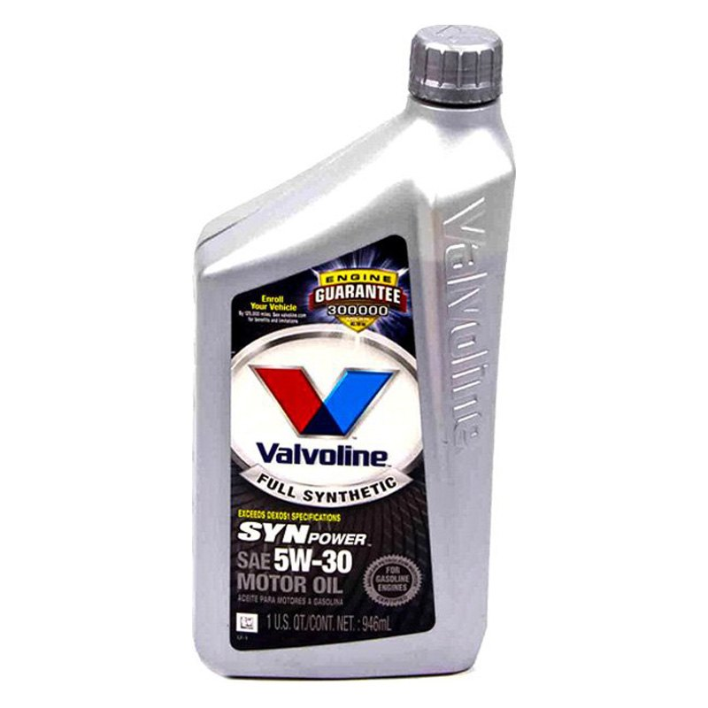 Valvoline 5w30 Valvoline® - Synpower™ Full Synthetic Motor Oil