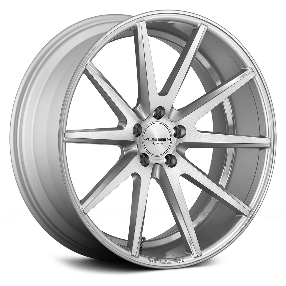 Vossen Handtücher Set Vossen® Vfs-1 Wheels - Silver With Brushed Face Rims