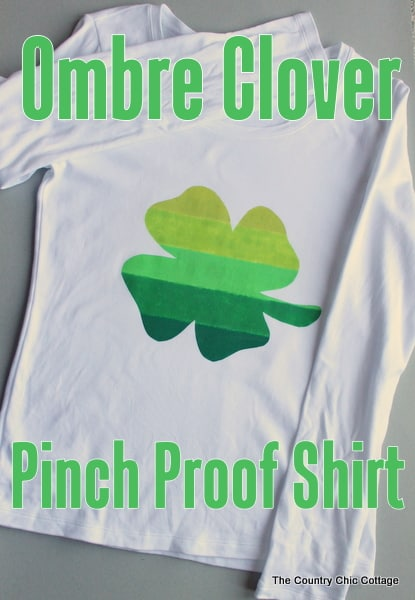 Ombre Clover Pinch Proof Shirt-006