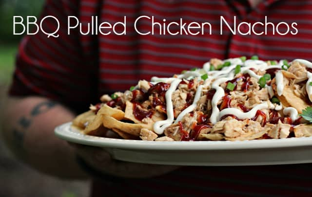 BBQ Pulled Chicken Nachos