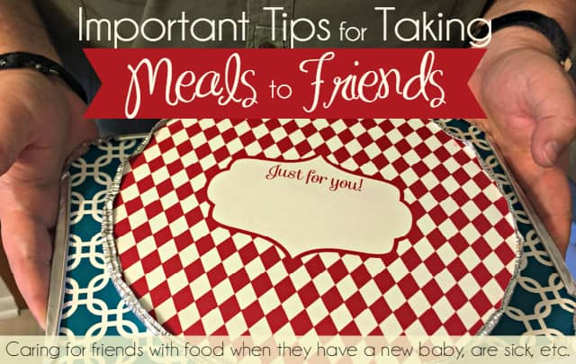 Important Tips for Taking a Meal to Friends