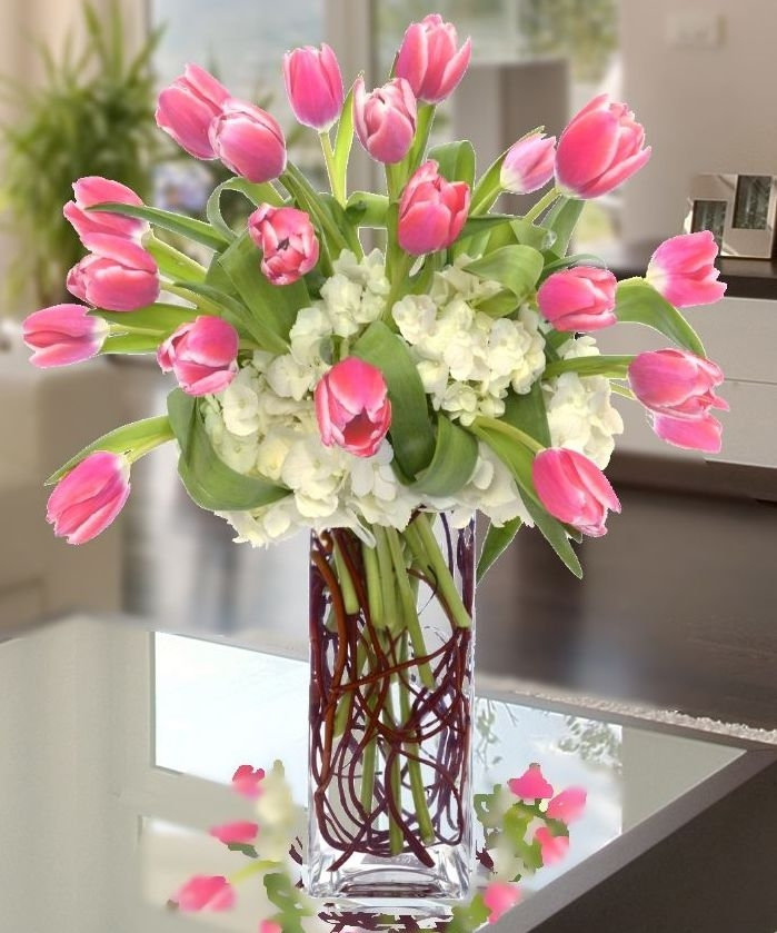 Tulips Flower Arrangement Tulips Atlanta | Carithers Flowers