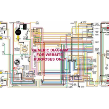 Buy 1957 Pontiac Color Wiring Diagram Online at Low Prices in USA