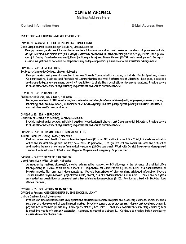 Sample Resume For Paralegal Student | Sample Customer Service Resume