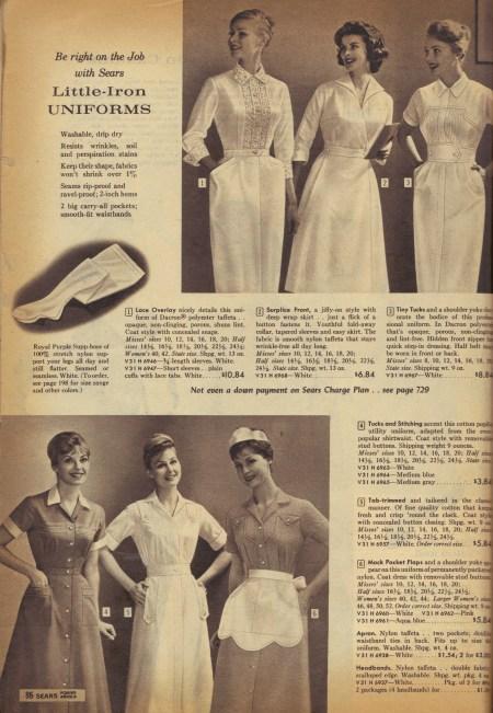 1960 Nurse Shoes