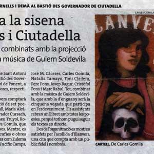 «Illanvers celebra la sisena edició a Fornells i Ciutadella»